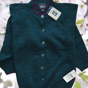 Woolrich Wool Blend Cardigan NWT